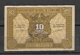 Gouvernement Général De L'Indochine - Indochina