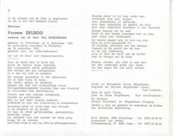 Yvonne Delboo (1923-1993) - Santini