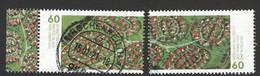 Duitsland 2021 Mi 3580-81 Reeks,  Prachtig Gestempeld - Used Stamps