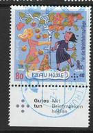 Duitsland 2021 Mi 3585, Frau Holle, Welvaart, Toeslag, Mooi Gestempeld - Used Stamps