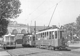 Lyon 2 Gare Perrache Tramway Autobus Bus Berliet - Lyon 2