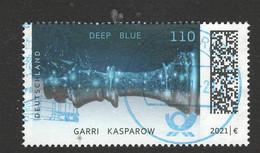 Duitsland 2021 Mi 3595  25 Jahre Schachcomputer   Prachtig Gestempeld - Used Stamps