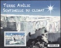 TAAF 2015 Yvert F753 Neuf ** Cote (2017) 2.50 Euro Terre Adélie Sentinelle Du Climat Manchot Adélie - Blocs-feuillets