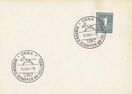 Germany - Sonderstempel / Special Cancellation # Unna (i774) - Lettres