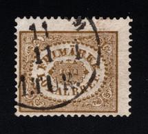 1862 Local Stamps Mi SE 13 Sn SE LX2 Yt SE SI2 AFA SE 13 Fac SE 13 Used Gest. - Used Stamps