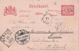 INDES NEERLANDAISES 1907   ENTIER POSTAL/GANZSACHE/POSTAL STATIONARY  CARTE - Nederlands-Indië