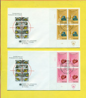 FAUNA - UCCELLI -FDC - 2 BUSTE - Covers & Documents