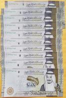 Saudi Arabia 20 Riyals 2020 P-New 5 Pieces XF+++ To AU Condition - Saudi Arabia