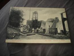 BELLE CPA - SERAING ( LIEGE ) - COCKERILL - PLAN INCLINE REMONTE DE CHARBON ( TOP ANIMATION !! ) - 1908 - Seraing