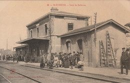 CPA-42-ST ETIENNE-Gare De Bellevue-Animée - Saint Etienne