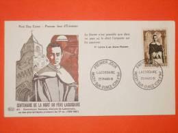 FRANCE 1er JOUR 1961-N°1287 Lacordaire Sur Enveloppe.  Superbe - 1960-1969
