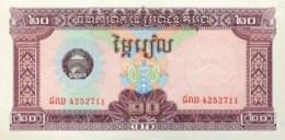 Cambodia 20 Riels, P-31 (1979) - UNC - Cambodia