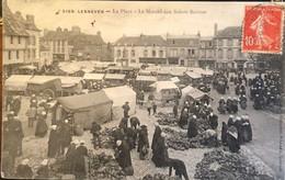 5159 Lesneven La Place Le Marché Aux Sabots Bretons - Lesneven