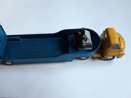 Corgi Major Toys, Made In Gt Britain, Big Bedford Tractor + Carrimore Low Loader, Bel état - Toy Memorabilia