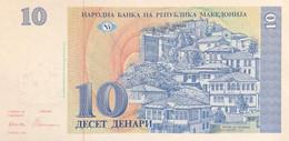 Macedonia 10 Denari, P-9 (1993) - UNC - Macedonia