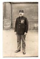 42205-ZE-MILITARIA-Crte Photo Non Légendée Ni Située D'un Militaire-------------manuscrit : Le Facteur Vandeweghe - Personen