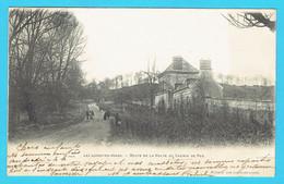 CPA LES LOGES EN JOSAS - Route De La Halte Du Chemin De Fer  - 78 Yvelines  - Précurseur - Other Municipalities
