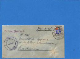 Allemagne Zone Française  1946 Lettre De Saarlouis (G1569) - Zona Francese