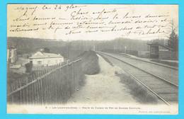CPA LES LOGES EN JOSAS - Halte Du Chemin De Fer De Grande Ceinture  - 78 Yvelines  - Précurseur - Gare - Other Municipalities