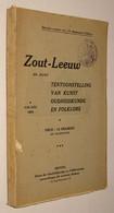 B0763[Tijdschrift] De Brabantsche Folklore 4de Jaar, Nrs 20-21-22, October 1924-februari 1925 Speciaal Nummer Zoutleeuw - History
