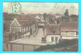 CPA CHARTRES - Rue Saint Jean - 28 Eure Et Loir - Cp Colorisée - Chartres