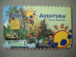 7048 Télécarte Collection PORT AVENTURA Costa Daurada   ( Recto Verso)  Carte Téléphonique - Pubblicitari