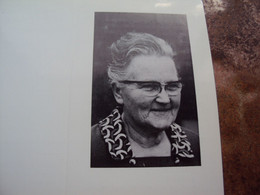 Doodsprentje/Bidprentje  Maria SERRÉ (Wwe E.LEMMENS) Scherpenheuvel 1900-1988 Medestichtster (1927)K.A.V. Scherpenheuvel - Religion &  Esoterik