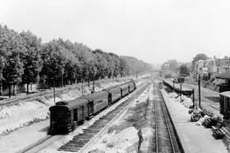 Le Parc-Saint-Maur. Cliché Jacques Bazin. 21-07-1956 - Trains