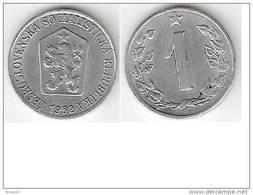 Czechoslovakia 1 Haleru  1962  Km 51   Unc - Tschechoslowakei