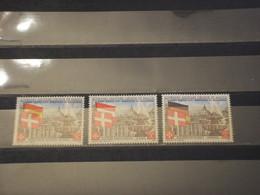 SOVRANO MILITARE ORDINE DI MALTA - 1975 ANNO SANTO 3 VALORI  - NUOVO(++) - Malte (Ordre De)