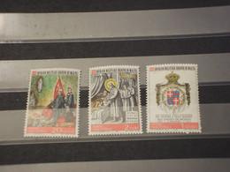 SOVRANO MILITARE ORDINE DI MALTA - 1972 GRAN MAESTRO 3 VALORI  - NUOVO(++) - Malte (Ordre De)