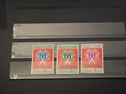 SOVRANO MILITARE ORDINE DI MALTA - 1971 RIFUGIATI 3 VALORI  - NUOVO(++) - Malte (Ordre De)