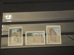 SOVRANO MILITARE ORDINE DI MALTA - 1976 ARCHITETTURA 3 VALORI  - NUOVO(++) - Malte (Ordre De)