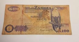 K100 BANK OF ZAMBIA /B/ 1992 / N 425 P# 38 - Zambia