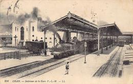 ORAN - Intérieur De La Gare P.L.M. - Oran