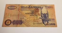 K100 BANK OF ZAMBIA /B/ 1992 / N 893 P# 38 - Zambia