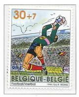 [153953]TB//**/Mnh-[2762] Belgique 1998, Sports, Football, Championnat Du Monde En France, Du Bloc 76, SNC - 1998 – France