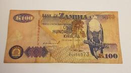 K100 BANK OF ZAMBIA /B/ 1992 / N 573 P# 38 - Zambia