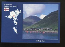 Féroé (Iles) : Kollafjordur - Faroe Islands