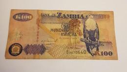 K100 BANK OF ZAMBIA /B/ 1992 / N 640 P# 38 - Zambia