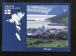 Féroé (Iles) : Midvagur - Faroe Islands