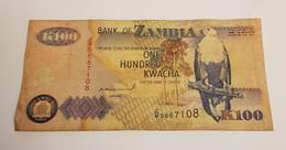 K100 BANK OF ZAMBIA /B/ 1992 / N 108 P# 38 - Zambia