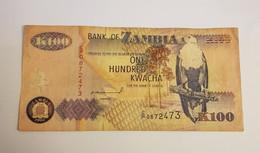 K100 BANK OF ZAMBIA /B/ 1992 / N 473 P# 38 - Zambia