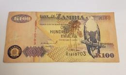 K100 BANK OF ZAMBIA /B/ 1992 / N 703 P# 38 - Zambia