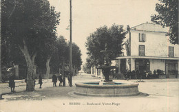 "CPA FRANCE 13 "" Berre, Boulevard Victor Hugo"" - Otros Municipios"