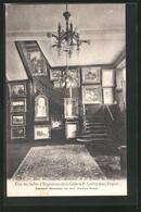 CPA Vichy, Une Des Salles D`Exposition De La Galerie P. Lintilhac, Antiquitätenhandel - Vichy