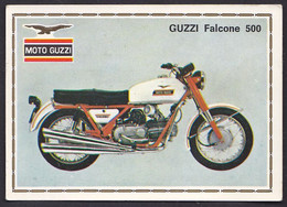 Guzzi Falcone 500 Ancienne Chromos Vintage Card Image Moto - Other
