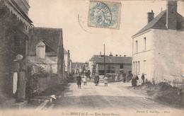 (DU 02) LOIR ET CHER , MONTAUX , Rue ST Denis - Autres Communes
