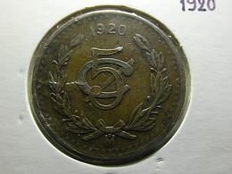 Mexico 5 Centavos 1920 - Mexico