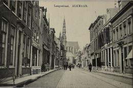 Alkmaar // Langestraat (Lunchroom Links) 1916 - Alkmaar